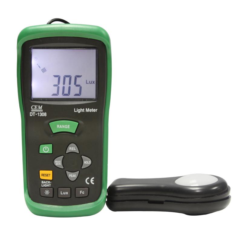 DT-1308多功能数字式照度计